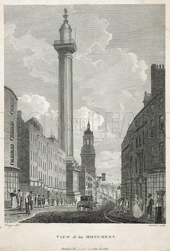 The Monument. Published 1796.