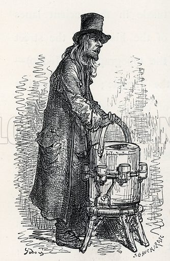 Lemonade salesman.