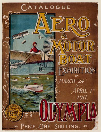 The Aero & Motor Boat Exhibition at Olympia, 1911.