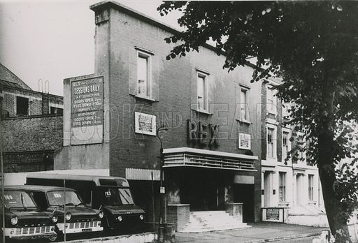 Rex cinema, 1964.