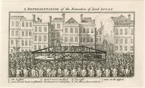 Execution of Lord Lovat.