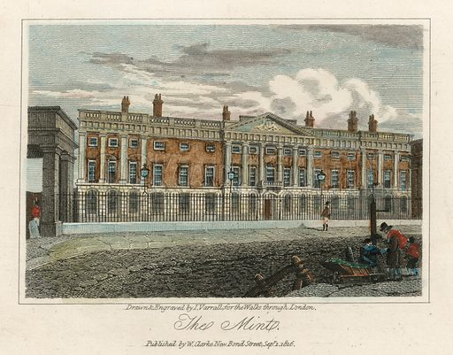 The Royal Mint. Published 1816.