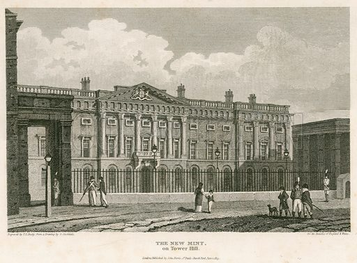 The Royal Mint. Published 1813.