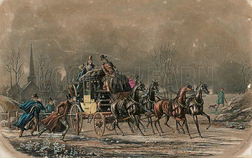 Coach transport.