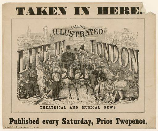 Tallis's Illustrated Life in London.