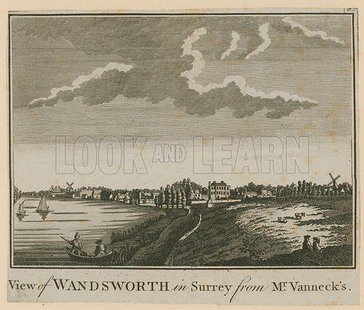 View of Wandsworth in Surrey from Mr Vanneck's.