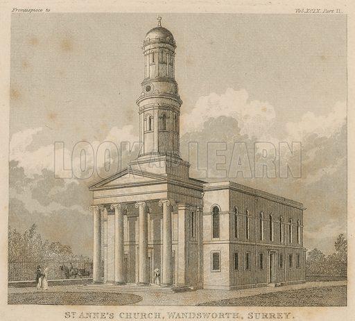 St Anne's Church, Wandsworth, Surrey.
