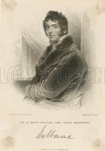 Lord Melbourne.