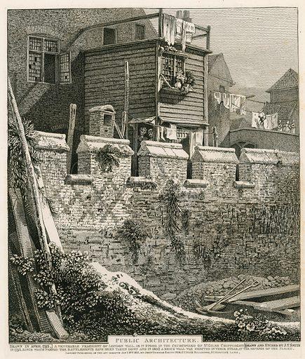 London Wall. Drawn in 1793.