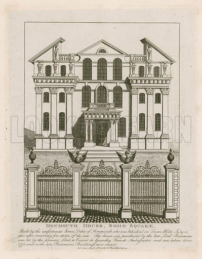 Monmouth House, picture, image, illustration