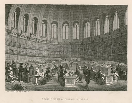 Reading Room in British Museum