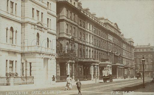 Lancaster Gate West London.