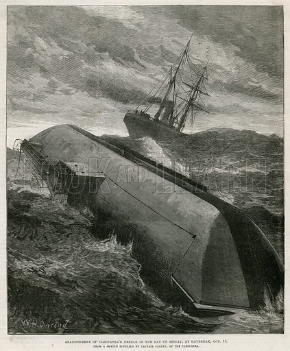 Abandonment of Cleopatra's Needle in the Bay of Biscay