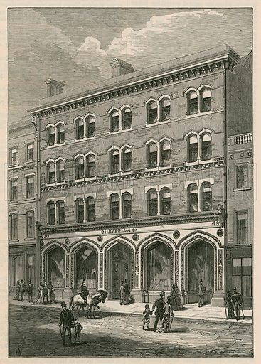 Messrs Chappell & Co's Premises, New Bond Street, London