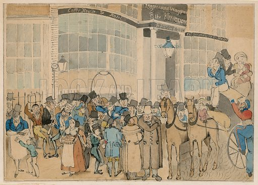 Hatchett in Piccadilly, picture, image, illustration