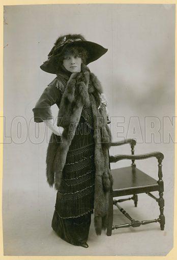 Sarah Bernhardt, actress; photograph.