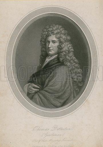 Thomas Betterton (Gentleman), one of their Majesty's Servants.