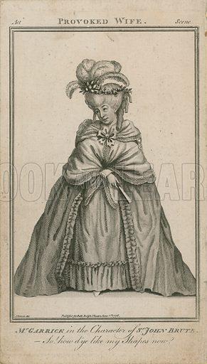Garrick, picture, image, illustration