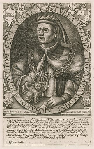 Richard Whittington, lord mayor of London.