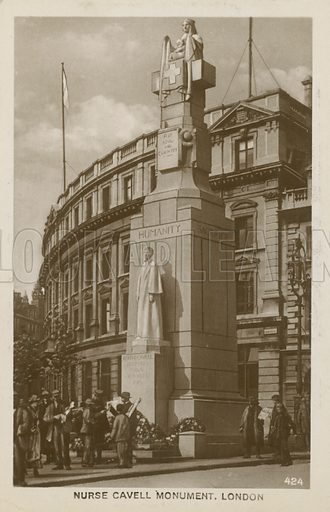 Edith Cavell statue
