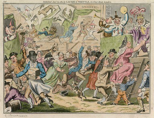 Bartholomew Fair, London; published 30 January 1811.