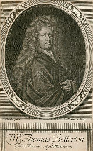 Mr Thomas Betterton, actor.