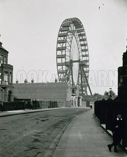 The Great Wheel, Earl's Court; London; photograph