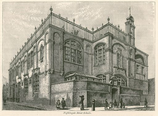 Nightingale Street School, Marylebone, London