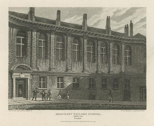 Merchant Taylors School, on Suffolk Lane, London,.