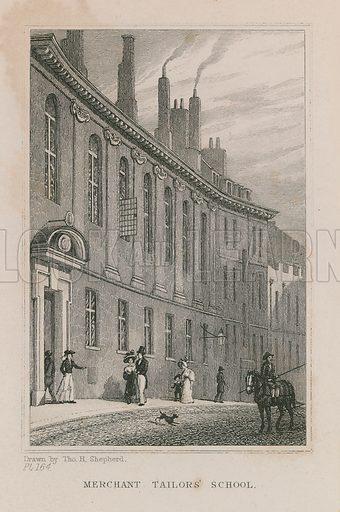 Merchant Tailors' School, on Suffolk Lane, in the City of London.
