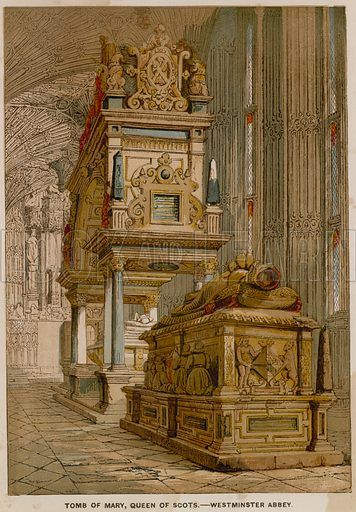 Tomb of Mary Queen of Scots, in Westminster Abbey