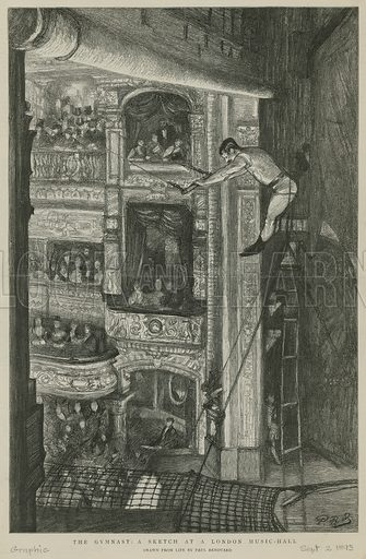 The Gymnast: a sketch at a London Music Hall