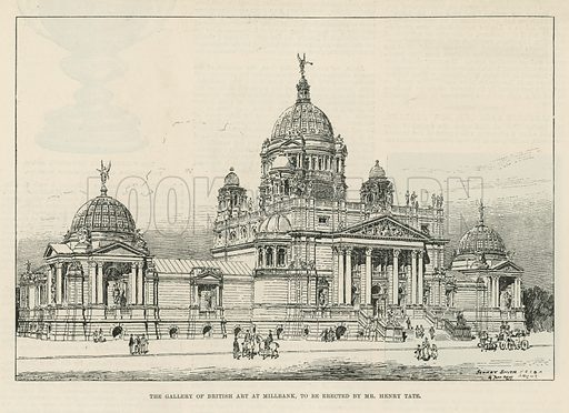 Tate Gallery, picture, image, illustration