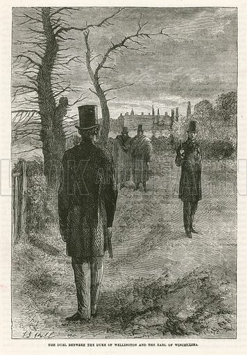 The duel between the Duke of Wellington and the Earl of Winchelsea
