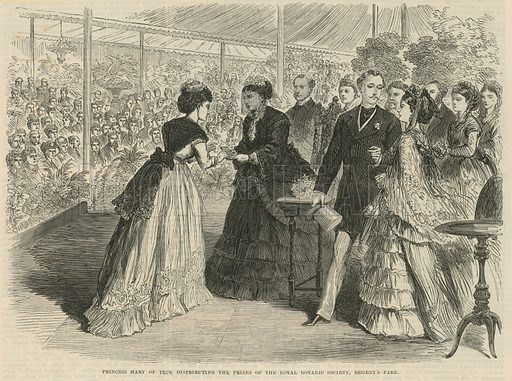 Regent's park, picture, image, illustration