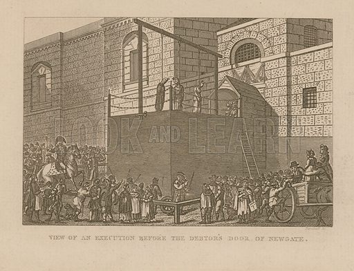 View of an executions before the debtor