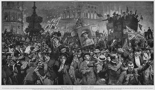 Mafeking Day at Piccadilly Circus