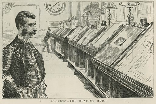 Lloyds – the reading room