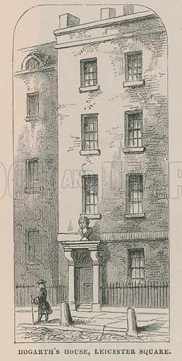 William Hogarth's house, Leicester Square.