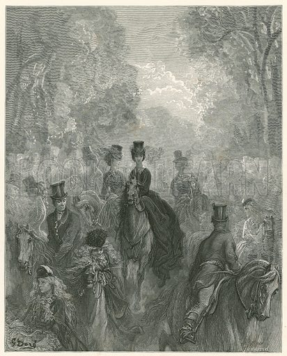 Lady's Mile, Rotten Row, Hyde Park, London