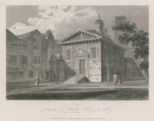 Lyon's Inn, London; published 15 May 1804.