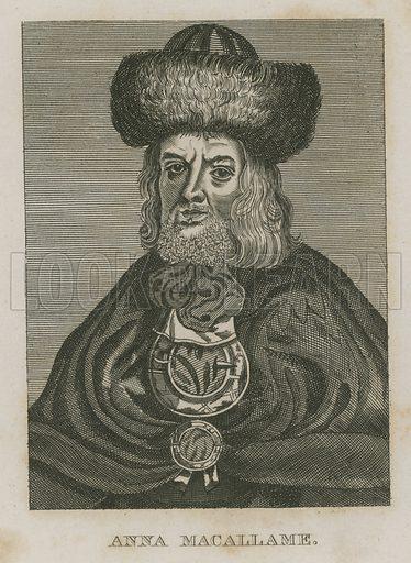 Anna Macallame, bearded lady