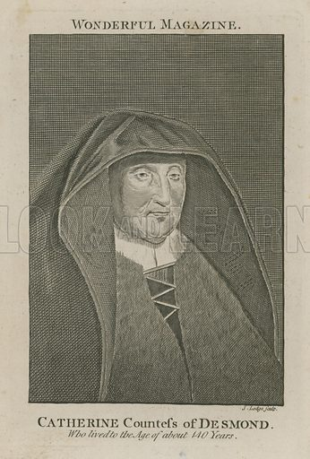 Catherine Countess of Desmond, who lived to the age of about 140 years
