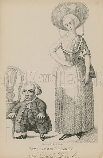 Wyband Lolkes, the Dutch dwarf.