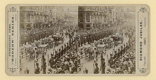 Queen Victoria, Diamond Jubilee, 1897.