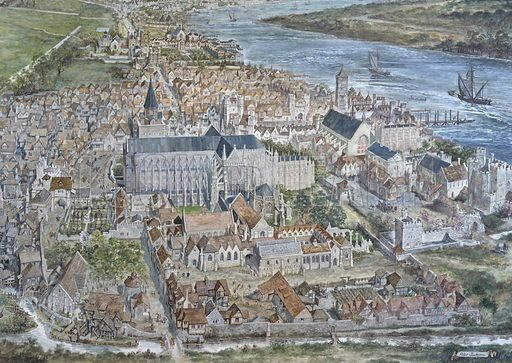 Old London Reconstructed: The city of Westminster.