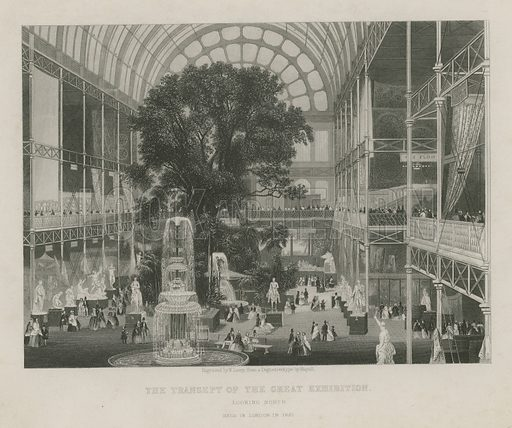 The Transept of the Great Exhibition, looking north.