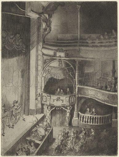 Dancing girls in a theatre