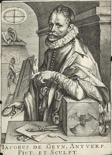 Jacobus de Geyn, Antverp; Jacobus de Geyn or Gheyn, of Antwerp.