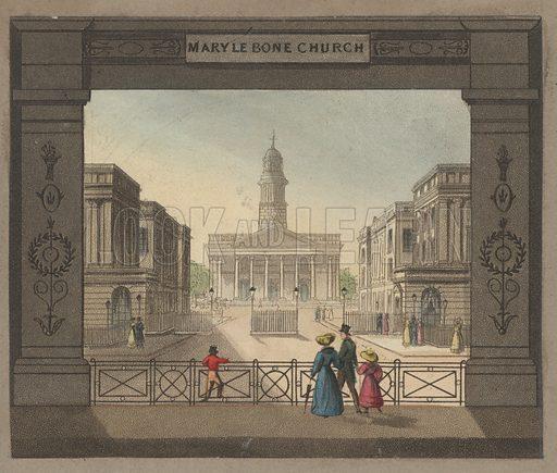 Marylebone Church.